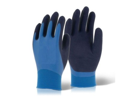 Fully Coated Latex Water Resistant Glove